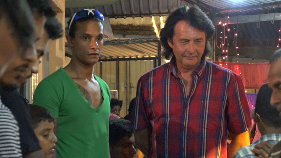 Chandika und Roland Raphael am Fest des Gebens