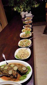 Ayurveda Resort ayurvedisches Festessen an Weihnachten in der Villa Raphael