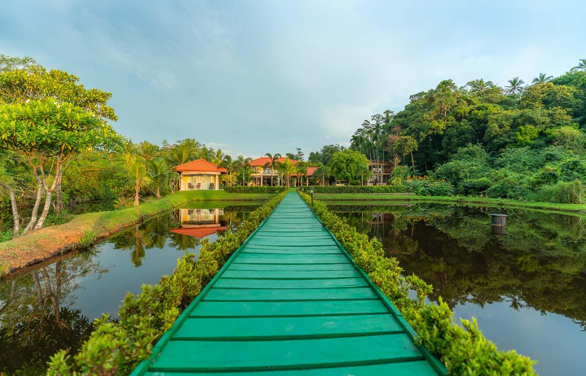 Aussicht auf das Resort von der Sea-Loung
