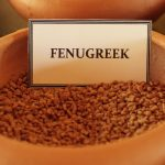 Herbal Demonstration Fenugreek seeds