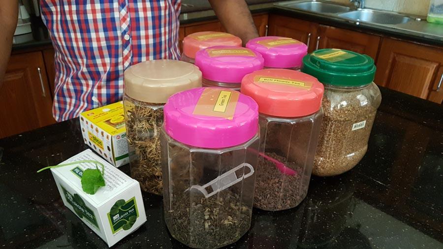 ayurvedische Teesorten