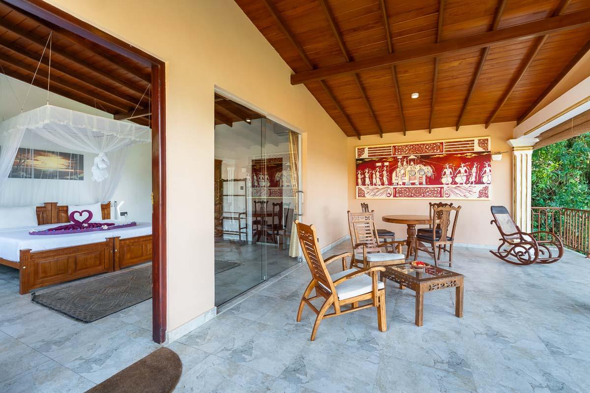 Luxus-Suite XL-Veranda