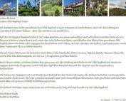 Testimonial: Reisebericht mit Fotos und Dankesschreiben