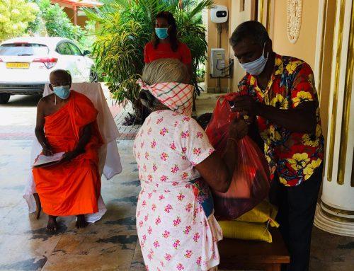 Spendenaktion für Menschen in Not